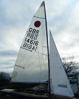 new dinghy sails